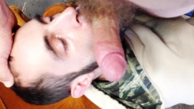 Me Sucking off my Redneck in the Garage