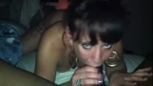 Tatted Brunette Mauls her BBC