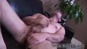 Straight Men in Denial Free Gay Porn Laying down on his Back, Steve's