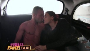 FemaleFakeTaxi Sexy Cabbie with Great Body Fucked in Garage