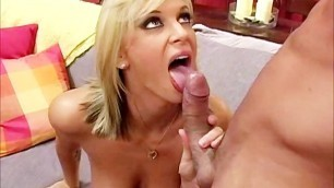 Brooke Banner Sucks and Fucks a Big Meat Pole