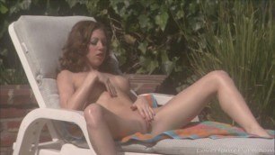 Sunbathing and Masturbating is the best Combination