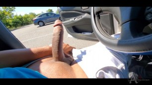 Public Masturbation Parking Lot Fun