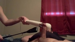 Dominatrix uses Whips, Vibrater and Pocket Puss